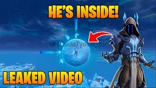 *NEW* LEAKED POLAR PEAK EVENT!! ICE KING IS INSIDE THE BALL!!! Fortnite Battle Royale