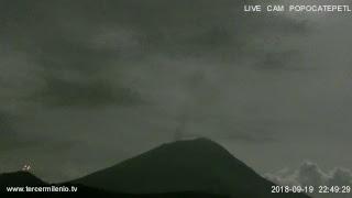 Monitoreo Volcán Popocatepetl EN VIVO