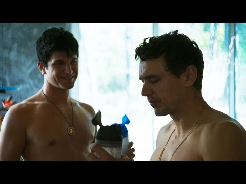 James Franco and Keegan Allen Pump Iron in 'King Cobra' (NSFW Language)
