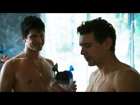 James Franco and Keegan Allen Pump Iron in 'King Cobra' (NSFW Language) - YouTube