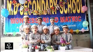 School program in MD Secondary School - kalma tayyaba in Arabic &amp Urdu - in Karachi   Pakistan