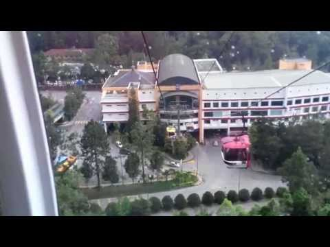 Cable Car Genting Highland, Malaysia April 2014 (way down - full) - HD