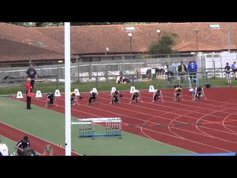 *** New Scottish Record * Michael Olsen *** U16 Boys 100m Final  Scottish National Champs 2013