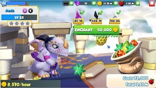 Upgrade Level 20 -31 Sumo Dragon - Gameplay - Dragon Mania Legends - part 815 HD