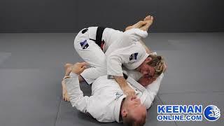 The absolute best way to escape a jiujitsu triangle choke - Keenan Cornelius