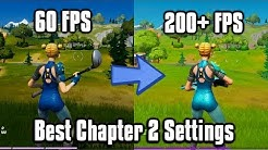 Fortnite Chapter 2 Settings Guide - FPS Boost, Edit On Release, & More!