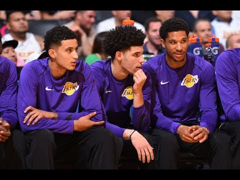 Best Of The Los Angeles Lakers From The 2017 NBA Preseason