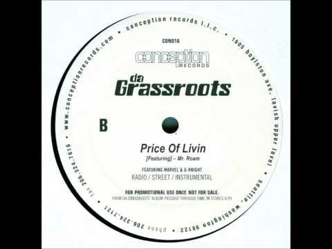Da Grassroots-Price Of Livin (Instrumental) HQ