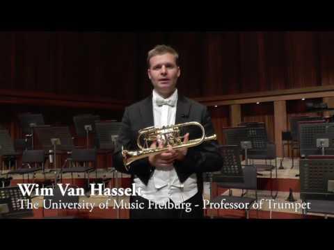 Message from Wim van Hasselt (Trumpet)