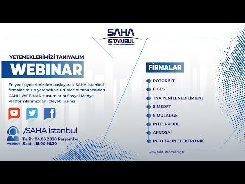 SAHA İstanbul Yazılım, Otomasyon ve Dijital Dönüşüm Komitesi 04.06.2020 Canlı Yayını
