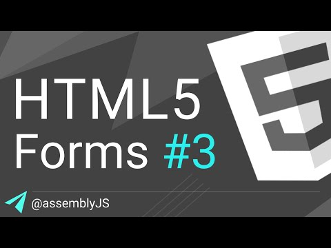 HTML Forms: How To Build A Form From Start To Finish | HTML5 | #SigmaSchool
