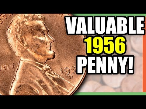 1956 WHEAT PENNY WORTH MONEY - RARE PENNIES THAT ARE VALUABLE