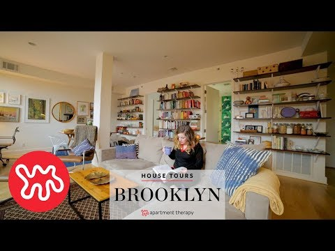 House Tours: A Closet Less Brooklyn Home   Duration: 2 Minutes, 52 Seconds. Apartment  Therapy