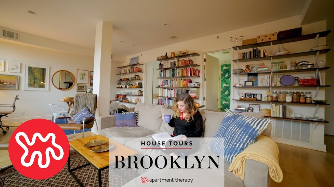A Closet Less Brooklyn Home House Tours Apartment Therapy Youtube