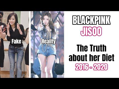 BlackPink Jisoo Diet Story 2016 - 2020