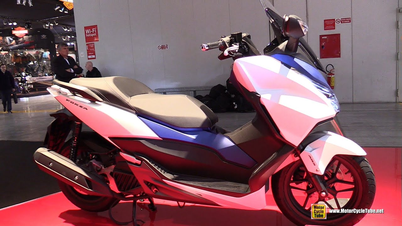 2016 honda forza 125 scooter walkaround 2015 eicma milan youtube. Black Bedroom Furniture Sets. Home Design Ideas