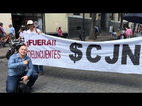 Marcha Contra Los Jueces Corruptos