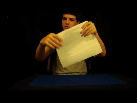 Magic Tricks Revealed: Torn And Restored Paper
