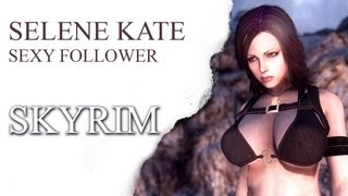 Repeat youtube video SKYRIM - Selene Kate Sexy Follower