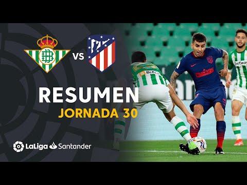 Resumen de Real Betis vs Atlético de Madrid (1-1)