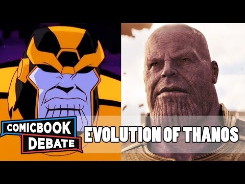 Evolution of Thanos in Cartoons, Movies & TV in 6 Minutes (2017)