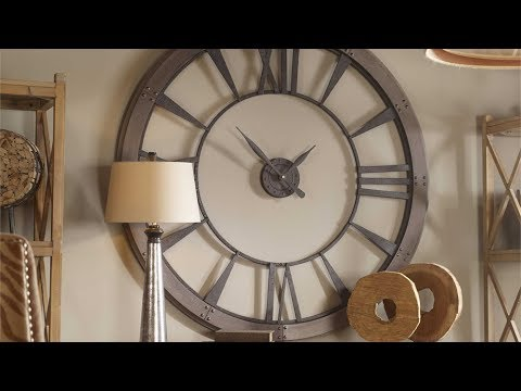 7c252aae33e7 Uttermost Ronan Wall Clocks - YouTube