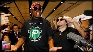 Dennis Rodman Reveals the AMAZING Message President Trump Gave Him After Peace Summit