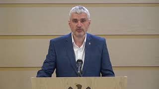 Briefing de presă, susținut de Vicepreședintele Parlamentului, Alexandru Slusari - 7 august 2020