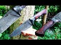 Gambar cover Knife making - Integral Damascus knife
