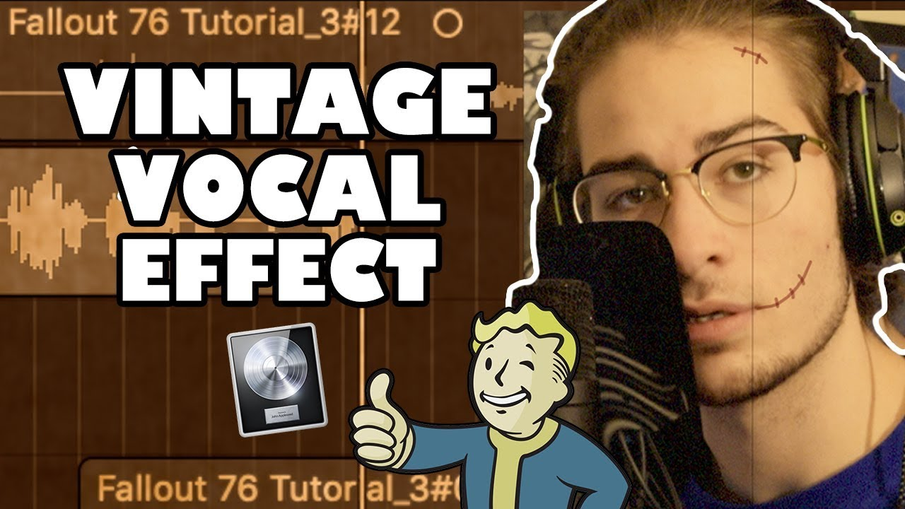 vintage vocal effect in logic pro x easy fallout 76 inspired tutorial youtube. Black Bedroom Furniture Sets. Home Design Ideas
