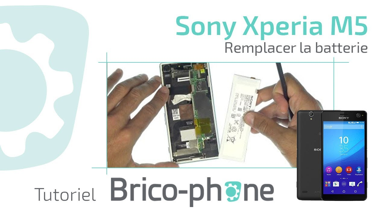 sony xperia m5 remplacer la batterie d montage remontage hd youtube. Black Bedroom Furniture Sets. Home Design Ideas