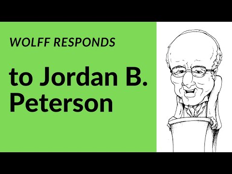 Richard Wolff takes on Jordan B. Peterson