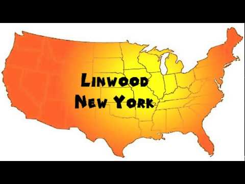 How to Say or Pronounce USA Cities — Linwood, New York