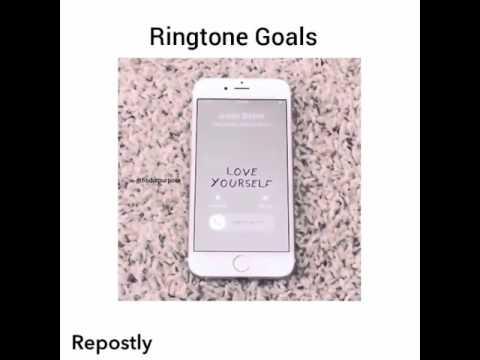 Love yourself ringtone