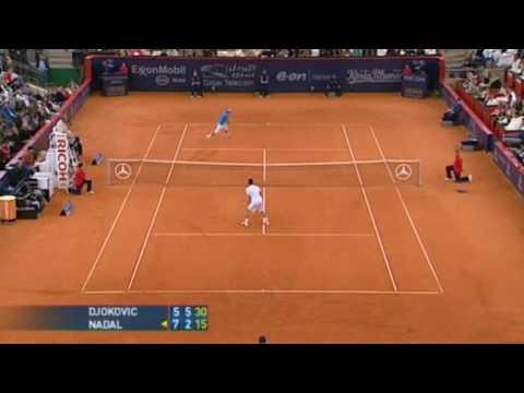 ATP Masters Series Hamburg 2008 Semi-Final Highlights - Federer V Seppi, Nadal V Djokovic