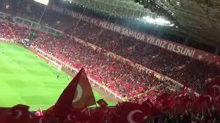 TÜRKIYE - Hırvatistan mehter marşı ve ölürüm Türkiyem