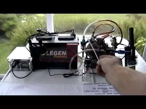 Plasma Phase Transition Engine Prototype