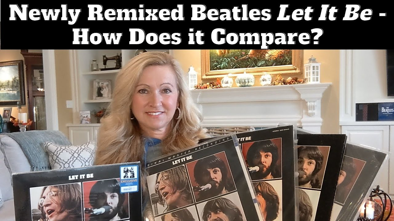 The Beatles Let It Be 2021 Giles Martin Remix Is Here! Vinyl Sound Quality Comparison & Impressions!