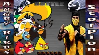 (Alternate Ending) Angry Birds v. Mortal Kombat: Grudge Match