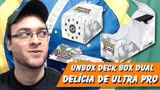 5º Pokémon TCG: Unbox Deck Box Dual ULTRA PRO, Delícia de Box Mano!