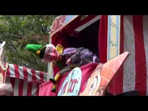MAY FAYRE 2014 Covent Garden London Punch and Judy