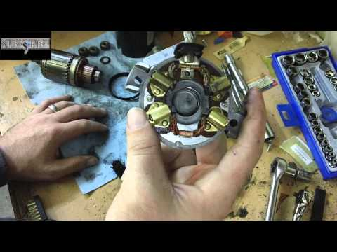 how to fix / clean your starter save money rebuild it your s