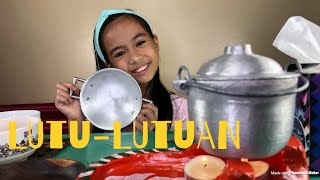 LUTU LUTUAN EPISODE 1:  HOTDOG AND KIKIAM (MINIATURE KIDS COOKING SET) | YESHA C. 🦄