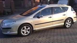 Peugeot 407 Kombi 1.6 HDI 110PS Panorama. Super! 10 XII 2013 Krk