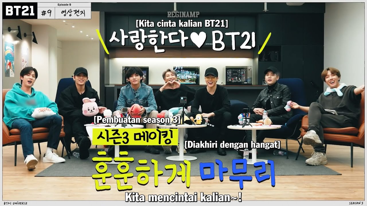 [INDO SUB] BT21 UNIVERSE 3 EP.09 - Fatherly Message (END)