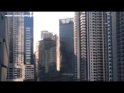 Les images du séisme qui a ébranlé les Philippines