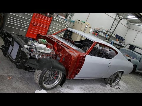 1969 Chevrolet Chevelle LS3 TSP 418 Stroker 4L80E Build Project