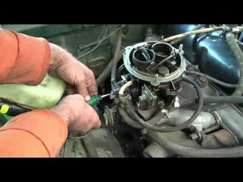 Как настроить карбюратор на газели 402 двигатель