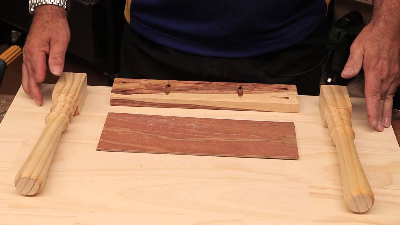 Working with the Pocket Hole Jig Building a simple table