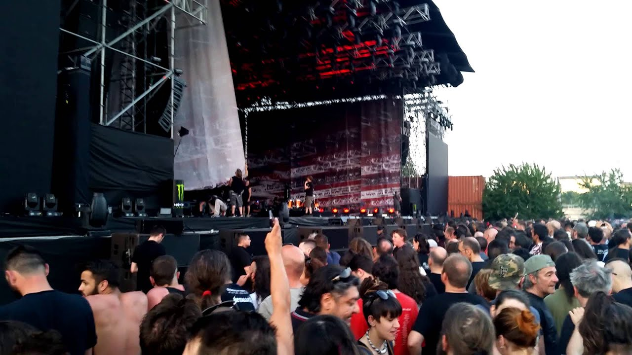 Sonisphere 2015 soundcheck pre Metallica